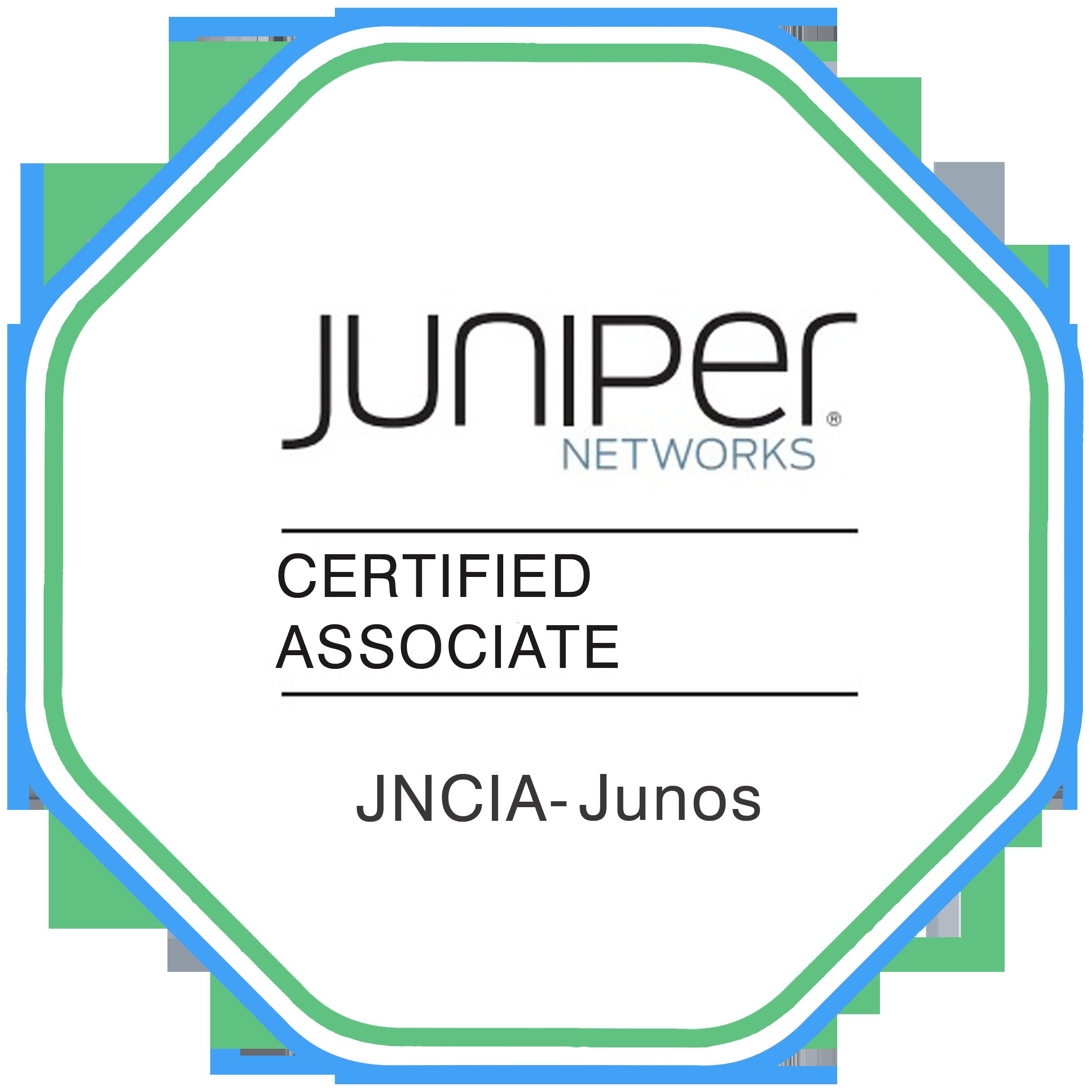 Data Center Certification TRACK - JNCIA- JUNOS