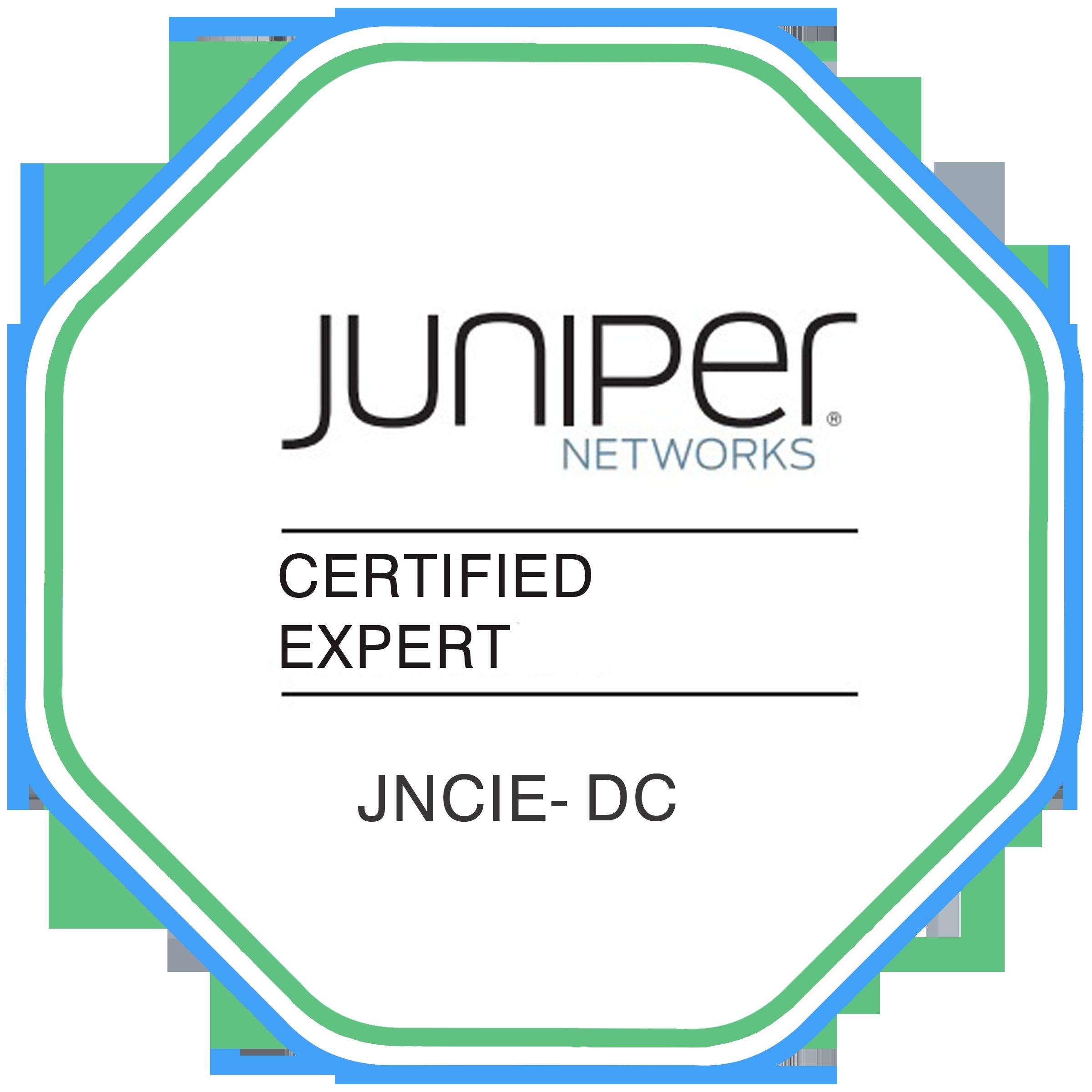 Data Center Certification TRACK - JNCIE- DC