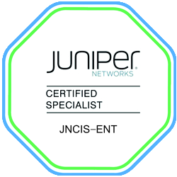 Data Center Certification Track - JNCIS- ENT